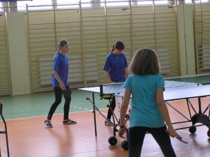 10.03.2011 roku Kowala finał powiatu w tenisie stołowym