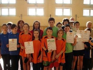 23.02.2011 roku Jedlnia Kościelna międzygminne zawody w tenisie stołowym