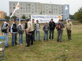 30.08.2008 roku V Radomska Olimpiada Młodzieży - biegi przełajowe